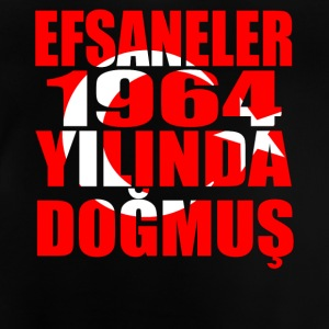 Tuerkiye Turkey legends born 1964 - Baby T-Shirt