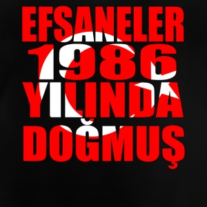 Tuerkiye Turkey legends born 1986 - Baby T-Shirt