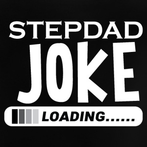 Step Dad Joke Loading Daddy Pops Jokes - Baby T-Shirt