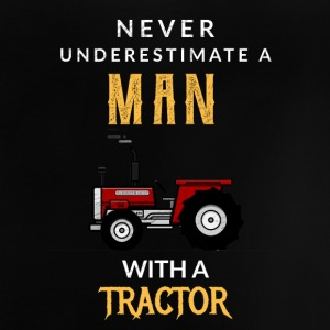 Never underestimate a Man with a tractor! - Baby T-Shirt