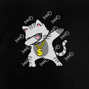 cat Dab - T-shirt Bébé