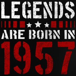 LEGENDS ARE BORN IN 1957 BIRTHDAY CHRISTMAS SHIRT - Baby T-Shirt