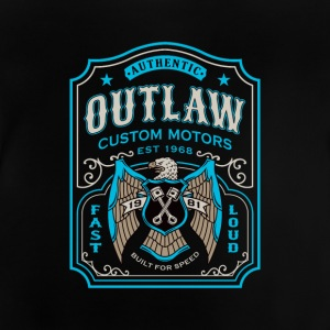 Outlaw Custom Motors Bike - Baby T-Shirt