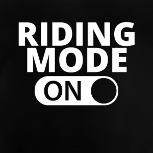 MODE ON RIDNING - Baby-T-skjorte
