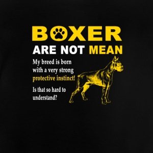 Dog T Shirt | Boxer love - Baby T-Shirt