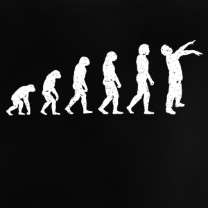 Evolution Zombie Death grappig RIP film-shirt - Baby T-shirt