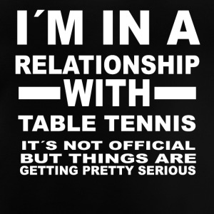 Relationship with TABLE TENNIS - Baby T-Shirt
