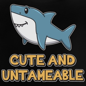 Shark Quote  Cute And Untameable Shark - Baby T-Shirt