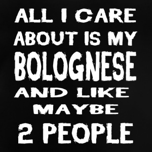 All i care about is my BOLOGNESE - Baby T-Shirt