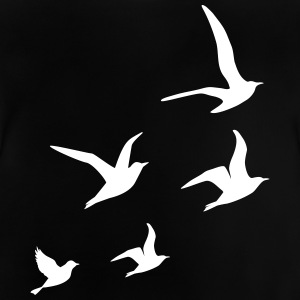 Flying Swallows - Baby T-Shirt