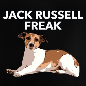 Jack Russel Freak weiss - Baby T-Shirt