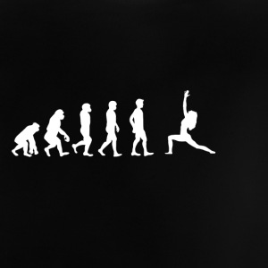 EVOLUTION yoga exhale ausatmen - Baby T-Shirt