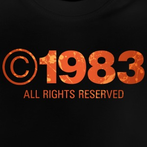 Copyright 1983 - Baby T-Shirt