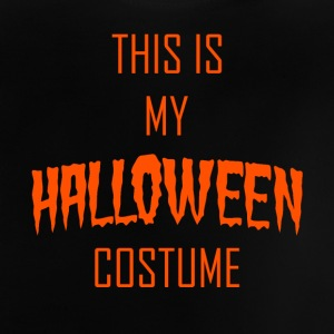 dette er min Halloween kostume - orange - Baby T-shirt