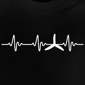 FPV - Quadrocopter Racing Heartbeat - Baby T-Shirt