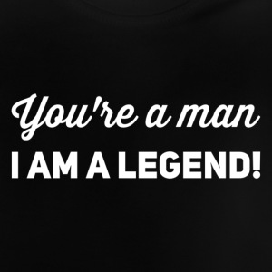 you're a man i am a legend weiss - Baby T-Shirt