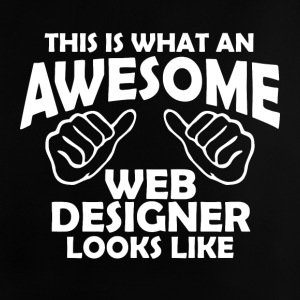 awesome web designer - Baby T-Shirt