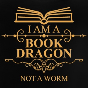 Fantasy / Drage: I Am A Book Drage. Ikke en orm. - Baby T-shirt