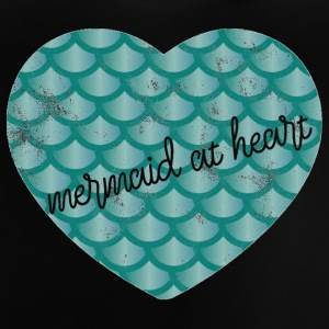 Mermaid at Heart - Heart green - Baby T-Shirt