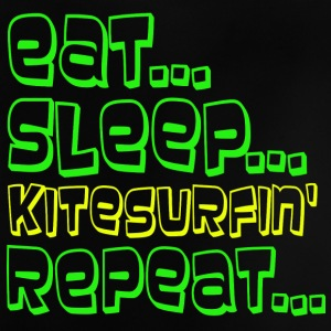 EAT SLEEP KITESURFING REPEAT - Baby T-Shirt