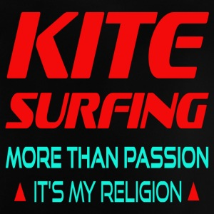 KITESURFING - MORE THAN PASSION ITS MY RELIGION - Baby T-Shirt
