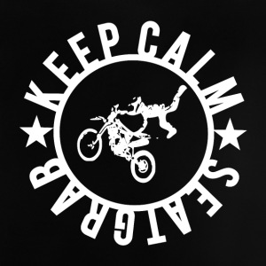 Keepcalm y  GRAB - Camiseta bebé