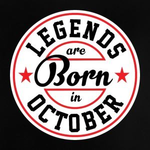 Legends October born birthday gift birth - Baby T-Shirt