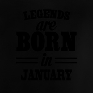 Legends föds i januari - Baby-T-shirt