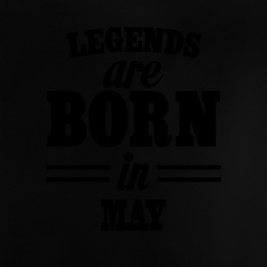 Legends are born in MAY - Camiseta bebé