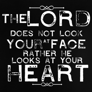Lord focus at your Heart - Baby T-Shirt