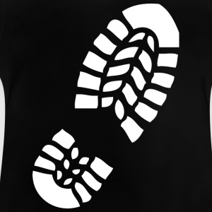 Footprint wite - Baby T-Shirt