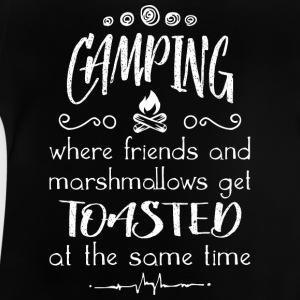 Camp And Get Toasted - Baby T-Shirt