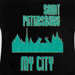 Saint Petersburg MY CITY - Baby-T-shirt