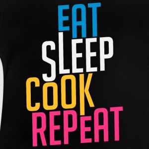 Eat Sleep Cook Repeat - Cook - Baby T-Shirt