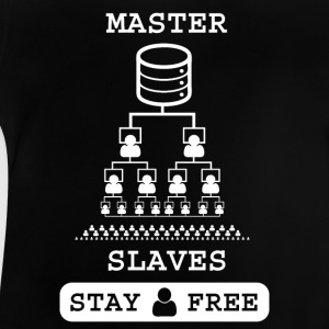 Masterslaves wite - Baby T-Shirt