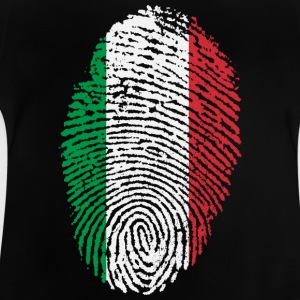 Fingerprint - Italië - Baby T-shirt