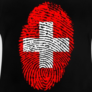 Fingerprint - Switzerland - Baby T-Shirt