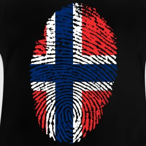Fingeraftryk - Norge - Baby T-shirt