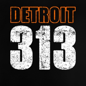 Detroit 313 Shirt Distressed - Baby T-Shirt