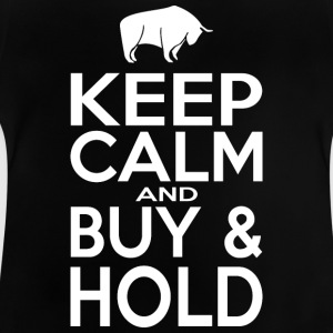 Keep Calm and Buy - Hold - Vauvan t-paita