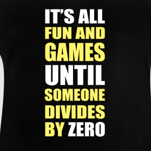 Divides by zero copy - Baby T-Shirt