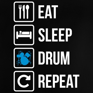Eat Sleep Drum Gentag - Baby T-shirt