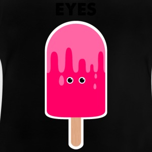 Eyes / ice cream on style / ice cream / sun summer shirt - Baby T-Shirt
