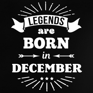 legends are born in december birthday saying