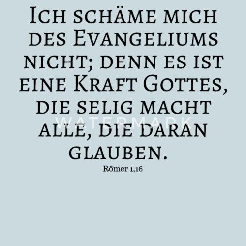 Evangelium, Kraft, Gott, Seele, Glaube, Bibelvers von ShirtShop24 ...