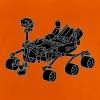 Curiosity Marsrover 2 - Baby T-Shirt