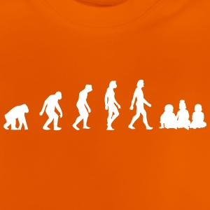 The Evolution Of Babies - Baby T-Shirt