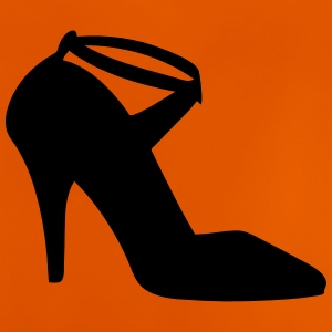 Vector highheels Silhouette - Baby-T-shirt