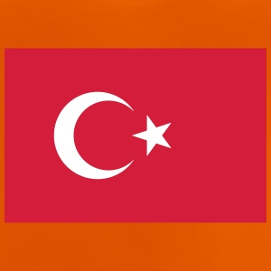 Nationalflagge der Türkei - Baby T-Shirt