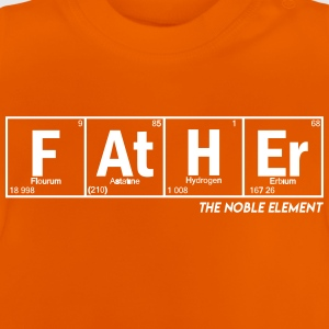 Dad Funny as Chemistry - vatertag vater geschenk - Baby T-Shirt